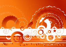Fondo rojo del vector, vector   stock de ilustración