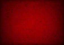 Fondo rojo del vinage del grunge ilustración del vector