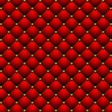 Fondo rojo del volumen ilustración del vector