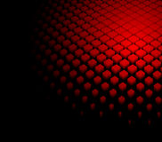 fondo rojo dinámico abstracto 3d Fotografía de archivo libre de regalías