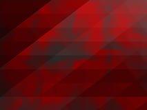 Fondo rojo geométrico abstracto Imágenes de archivo libres de regalías