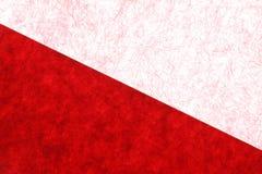 Fondo rojo japonés de la textura del Libro Blanco del Año Nuevo Imagen de archivo