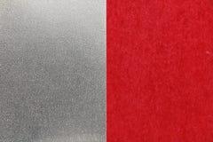 Fondo rojo japonés de la textura del papel de plata del Año Nuevo Fotografía de archivo