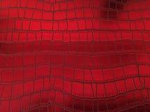 Fondo rojo metálico Imagen de archivo libre de regalías