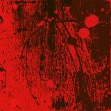 fondo Rojo-negro con los puntos Imagen de archivo