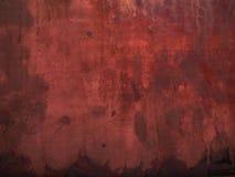 Fondo rojo oscuro del grunge Fotografía de archivo