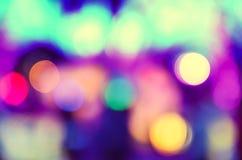 fondo Rojo-púrpura de las luces Imágenes de archivo libres de regalías