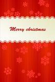 Fondo rojo para la Navidad Imagenes de archivo