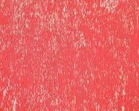 Fondo rojo pelado del extracto de la pintura Fotos de archivo libres de regalías