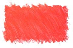 Fondo rojo pintado Foto de archivo