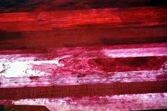 Fondo rojo, rosado y blanco de la pintura al óleo Imagenes de archivo