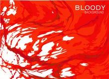 Fondo rojo sangriento stock de ilustración