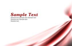 Fondo rojo simple ilustración del vector