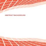 Fondo rojo tejado abstracto cuadrado elegante Fotos de archivo