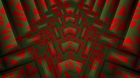 Fondo rojo, verde texturizado extracto ilustración del vector