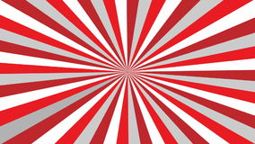 Fondo rojo y blanco abstracto almacen de video