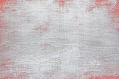 Fondo rojo y gris del metal Imagen de archivo