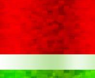 Fondo rojo y verde Stock de ilustración