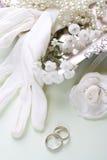 Fondo romántico de la boda Foto de archivo