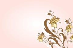 Fondo romántico de la flor Foto de archivo