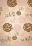 Fondo romántico de las rosas Foto de archivo