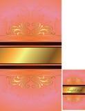 Fondo romántico del diseño Imagen de archivo