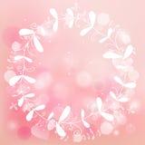 Fondo romántico rosado Fotos de archivo