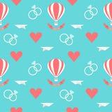 Fondo romantico senza cuciture di nozze Immagine Stock Libera da Diritti