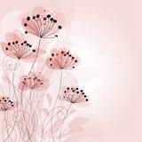Fondo romántico de la flor Imagenes de archivo