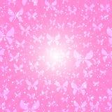 Fondo rosa Immagine Stock