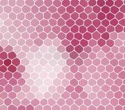 Fondo rosa astratto con le cellule, non senza cuciture Fotografia Stock Libera da Diritti