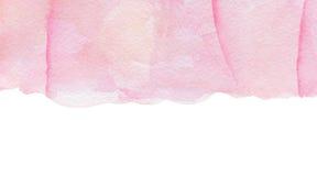 Fondo rosa astratto dell'acquerello Fotografie Stock