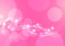 Fondo rosa astratto luminoso Fotografie Stock Libere da Diritti