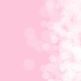 Fondo rosa astratto per il compleanno Fotografia Stock