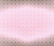 Fondo rosa claro y de Brown del papel pintado Fotografía de archivo libre de regalías