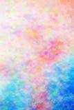 Fondo rosa dei cuori del biglietto di S fotografie stock libere da diritti