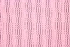 Fondo rosa del modello di pois, vista superiore fotografia stock