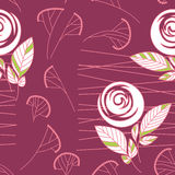 Fondo rosa del reticolo dell'annata senza cuciture Immagine Stock