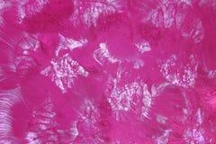 Fondo rosa dell'acquerello con i modelli sollevati Fotografie Stock Libere da Diritti