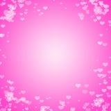 Fondo rosa dell'estratto del cuore del bokeh Identificazione di immagine: 473665810 illustrazione vettoriale