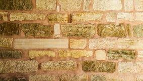 Fondo rosa della parete di pietra, Turchia immagini stock