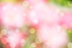 Fondo rosa della scintilla (fondo vago) Immagine Stock Libera da Diritti