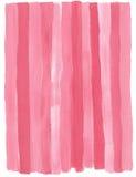 Fondo rosa di gouache Immagini Stock
