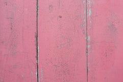 Fondo rosa di legno Fotografia Stock Libera da Diritti