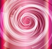 Fondo rosa di spirale di colore Immagini Stock