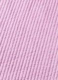 Fondo rosa di struttura della trapunta del cotone Fotografia Stock Libera da Diritti