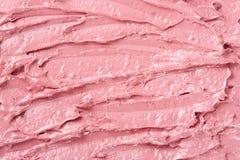 Fondo rosa di struttura di colore del rossetto Immagine Stock