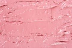 Fondo rosa di struttura di colore del rossetto Fotografia Stock Libera da Diritti