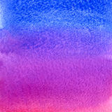 Fondo rosa e blu dell'acquerello di vettore di pendenza illustrazione di stock