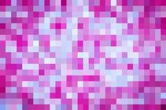 Fondo rosa e porpora del pixel Fotografie Stock Libere da Diritti